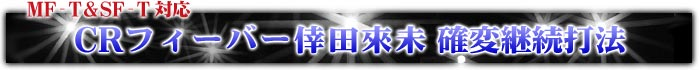 CRフィーバー倖田來未 確変継続打法